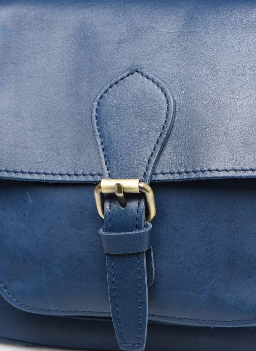 Bolsos de mano Georgia Rose Magali Leather Azul vista lateral izquierda