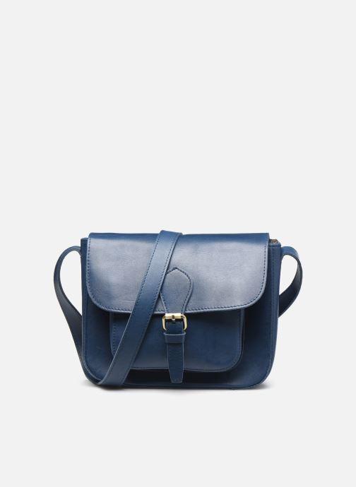 Bolsos de mano Georgia Rose Magali Leather Azul vista de detalle / par