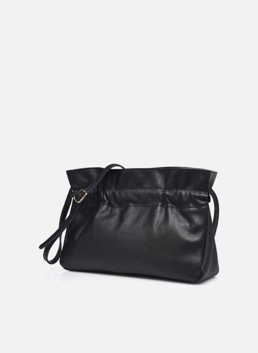 Bolsos de mano Georgia Rose Marga Leather Negro vista del modelo