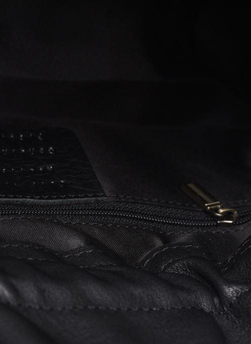 Bolsos de mano Georgia Rose Marga Leather Negro vistra trasera