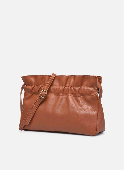 Bolsos de mano Georgia Rose Marga Leather Marrón vista del modelo