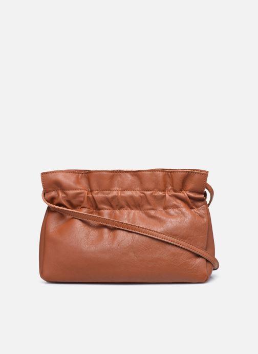 Handtaschen Georgia Rose Marga Leather braun ansicht von vorne