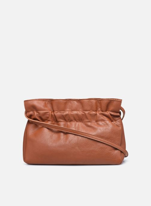 Bolsos de mano Georgia Rose Marga Leather Marrón vista de frente