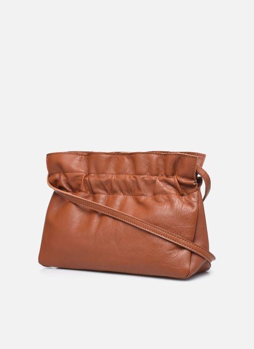 Handtaschen Georgia Rose Marga Leather braun ansicht von rechts