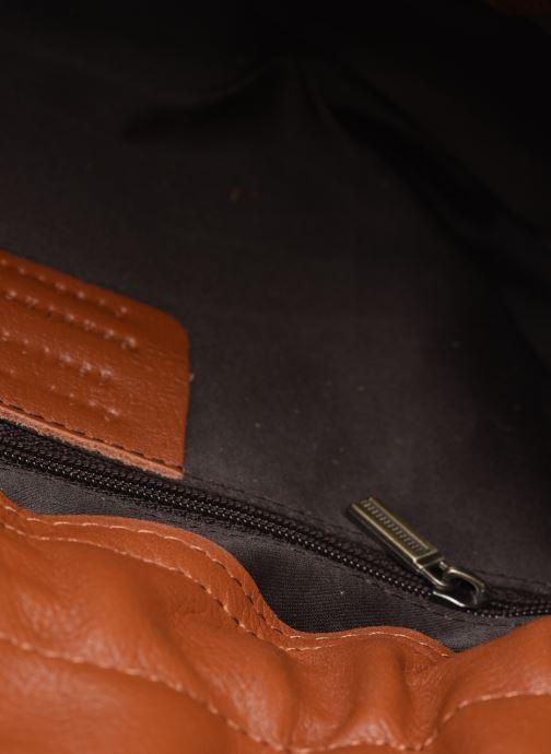 Handtassen Georgia Rose Marga Leather Bruin achterkant