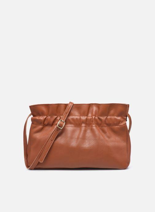Handtassen Georgia Rose Marga Leather Bruin detail