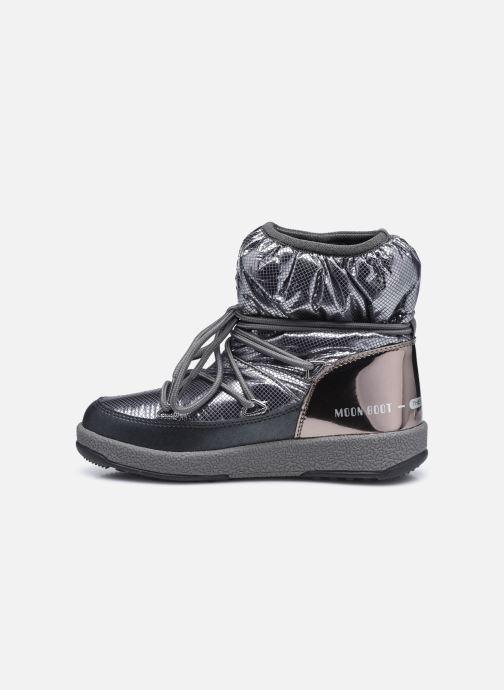 Chaussures de sport Moon Boot Moon Boot Jr Girl Low Premium Nylon WP Argent vue face