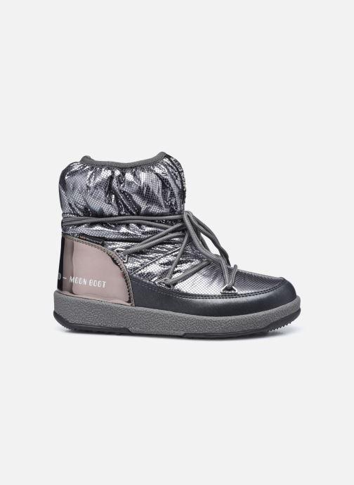 Chaussures de sport Moon Boot Moon Boot Jr Girl Low Premium Nylon WP Argent vue derrière