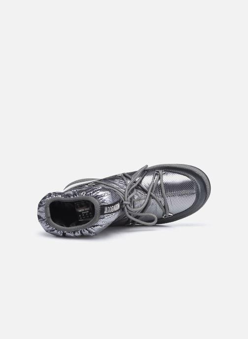 Chaussures de sport Moon Boot Moon Boot Jr Girl Low Premium Nylon WP Argent vue gauche