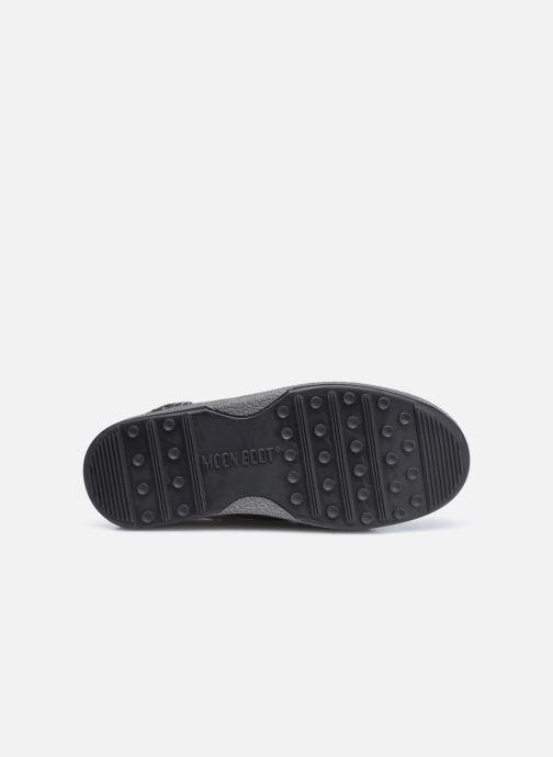 Chaussures de sport Moon Boot Moon Boot Jr Girl Low Premium Nylon WP Argent vue haut