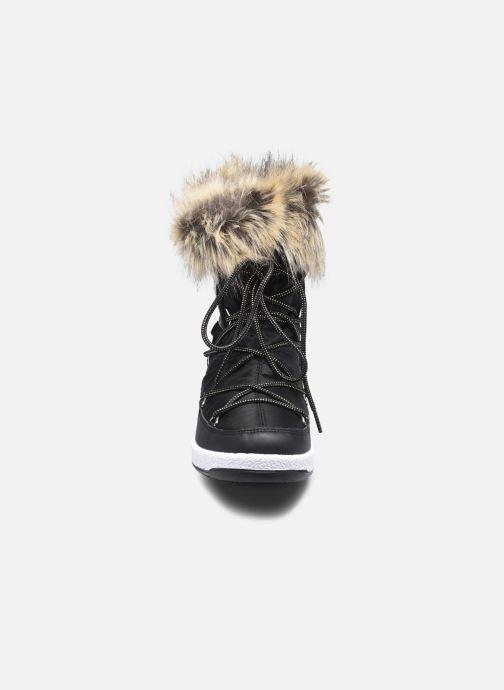 Chaussures de sport Moon Boot Moon Boot Jr Girl Monaco Low WP Noir vue portées chaussures
