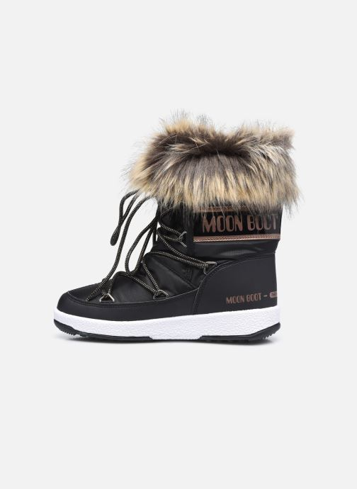 Chaussures de sport Moon Boot Moon Boot Jr Girl Monaco Low WP Noir vue face
