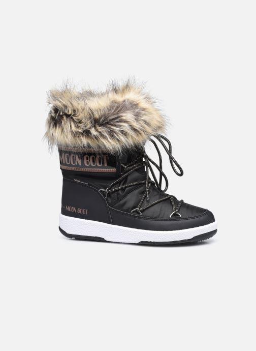 Chaussures de sport Moon Boot Moon Boot Jr Girl Monaco Low WP Noir vue derrière