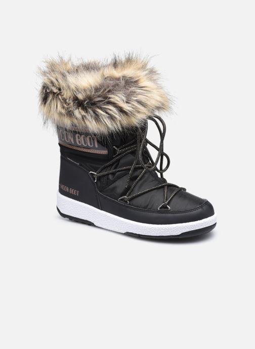 Chaussures de sport Moon Boot Moon Boot Jr Girl Monaco Low WP Noir vue détail/paire