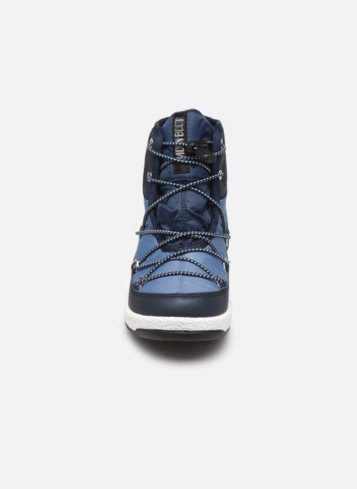 Sportschuhe Moon Boot Moon Boot Jr Boy Mid WP 2 blau schuhe getragen