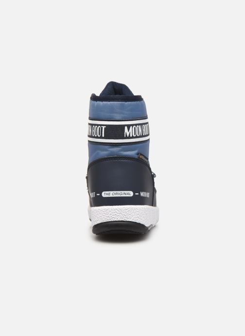 Sportschuhe Moon Boot Moon Boot Jr Boy Mid WP 2 blau ansicht von rechts