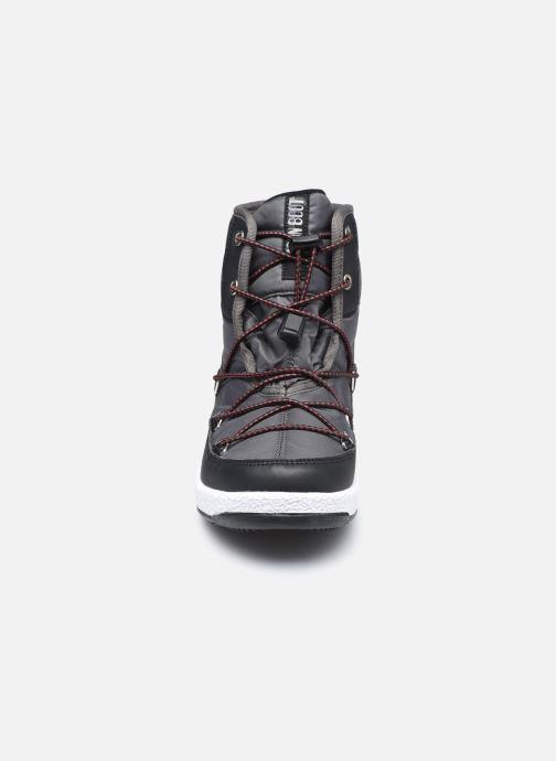 Chaussures de sport Moon Boot Moon Boot Jr Boy Mid WP 2 Noir vue portées chaussures