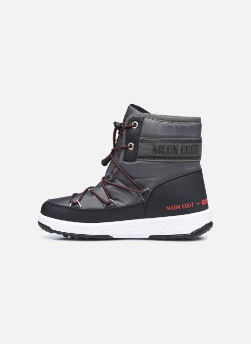 Chaussures de sport Moon Boot Moon Boot Jr Boy Mid WP 2 Noir vue face