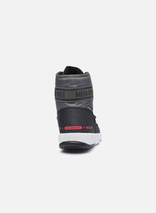 Chaussures de sport Moon Boot Moon Boot Jr Boy Mid WP 2 Noir vue droite