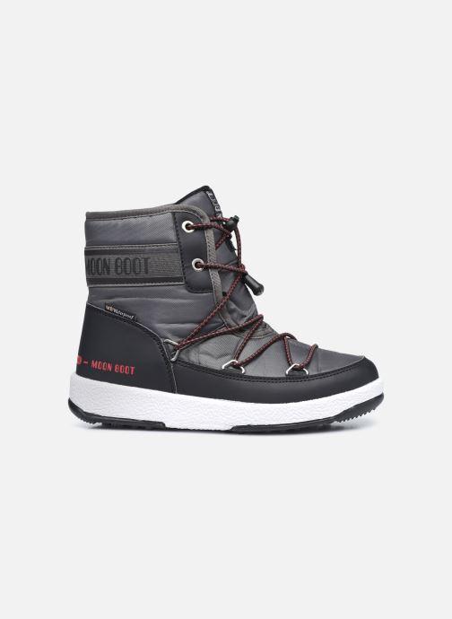 Chaussures de sport Moon Boot Moon Boot Jr Boy Mid WP 2 Noir vue derrière