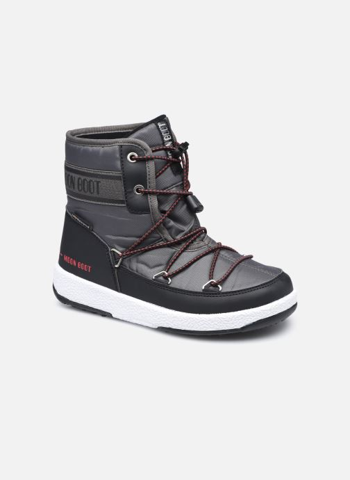 Chaussures de sport Moon Boot Moon Boot Jr Boy Mid WP 2 Noir vue détail/paire