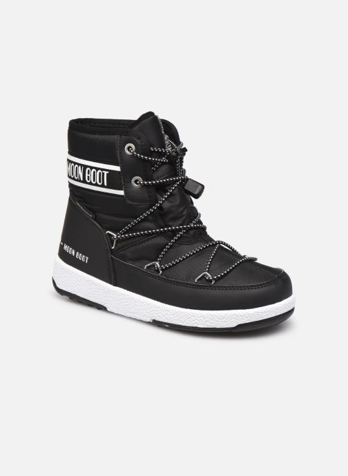 Zapatillas de deporte Moon Boot Moon Boot Jr Boy Mid WP 2 Negro vista de detalle / par