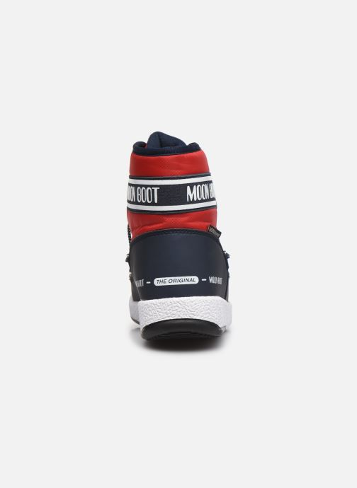 Chaussures de sport Moon Boot Moon Boot Jr Boy Mid WP 2 Rouge vue droite