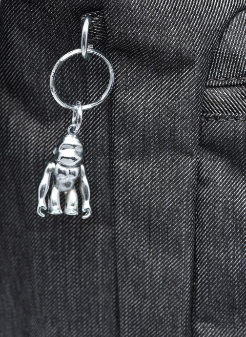 Handtaschen kipling MIHO M schwarz ansicht von links