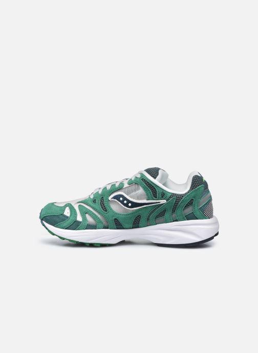 Sneaker Saucony Grid Azura grün ansicht von vorne