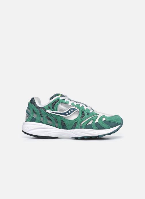 Sneaker Saucony Grid Azura grün ansicht von hinten