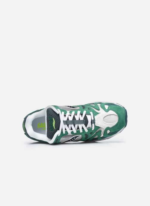 Sneaker Saucony Grid Azura grün ansicht von links