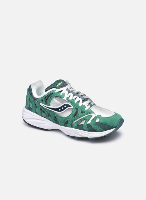 Sneakers Saucony Grid Azura Groen detail