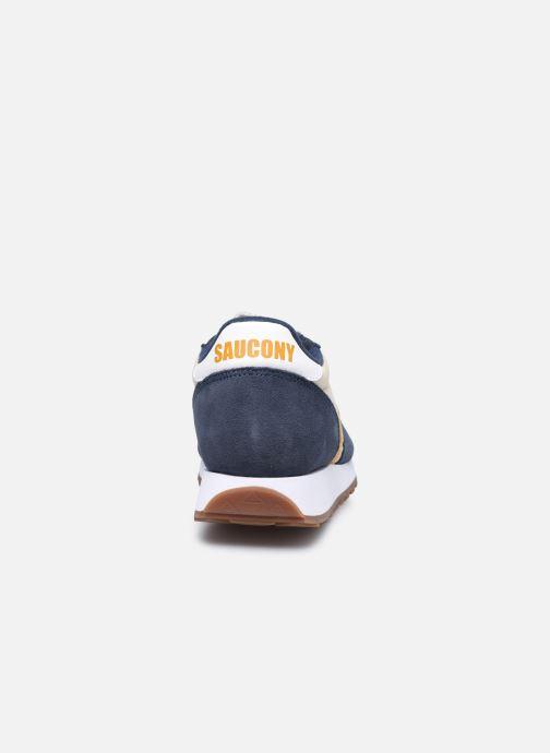 Sneaker Saucony Jazz Original Vintage M blau ansicht von rechts