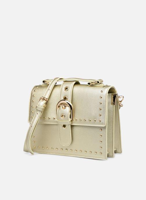 Bolsos de mano I Love Shoes WAPOLA Oro y bronce vista del modelo