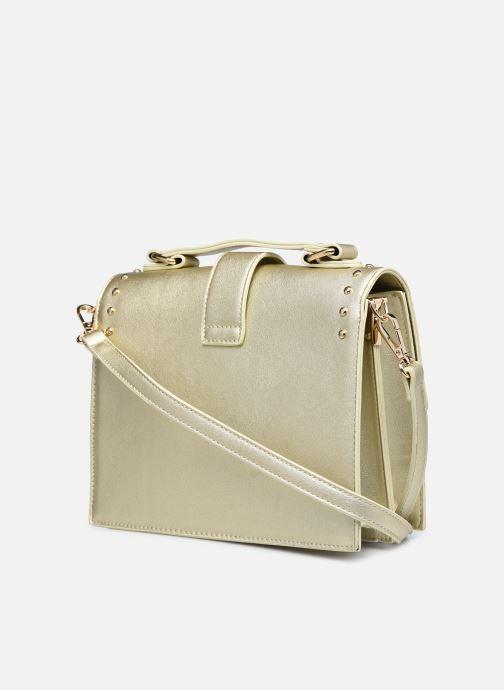 Bolsos de mano I Love Shoes WAPOLA Oro y bronce vista lateral derecha