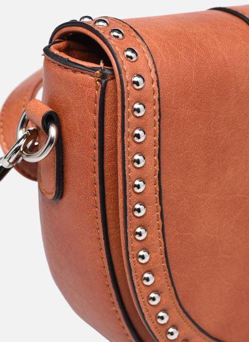 Bolsos de mano I Love Shoes WOGUE Marrón vista lateral izquierda