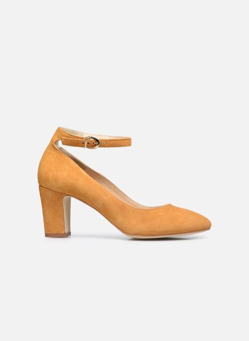 Zapatos de tacón Minelli F91 107/VEL Amarillo vistra trasera