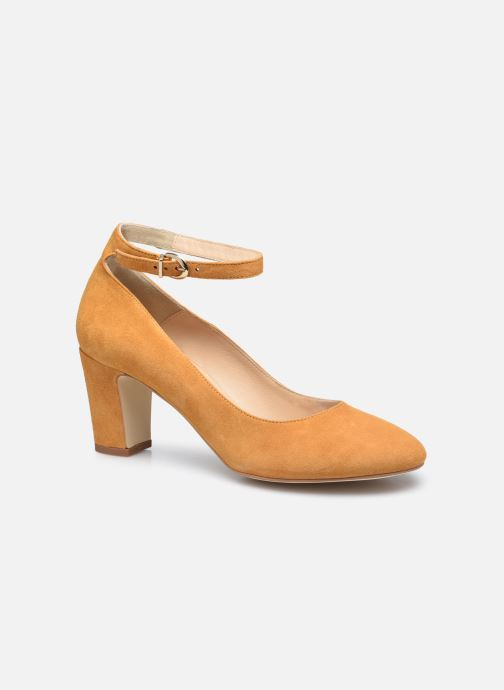 Zapatos de tacón Minelli F91 107/VEL Amarillo vista de detalle / par