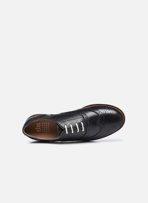 Chaussures à lacets TBS Chacara Noir vue gauche