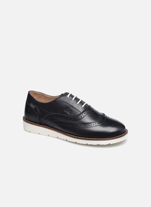 Chaussures à lacets TBS Chacara Noir vue détail/paire