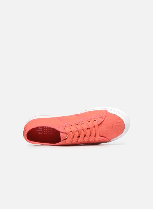 Sneaker TBS Maiddan orange ansicht von links
