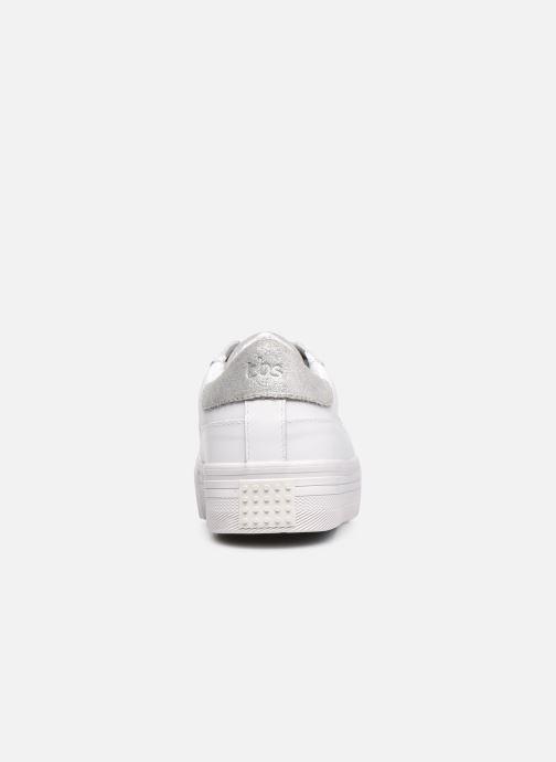Baskets TBS Nocella Blanc vue droite