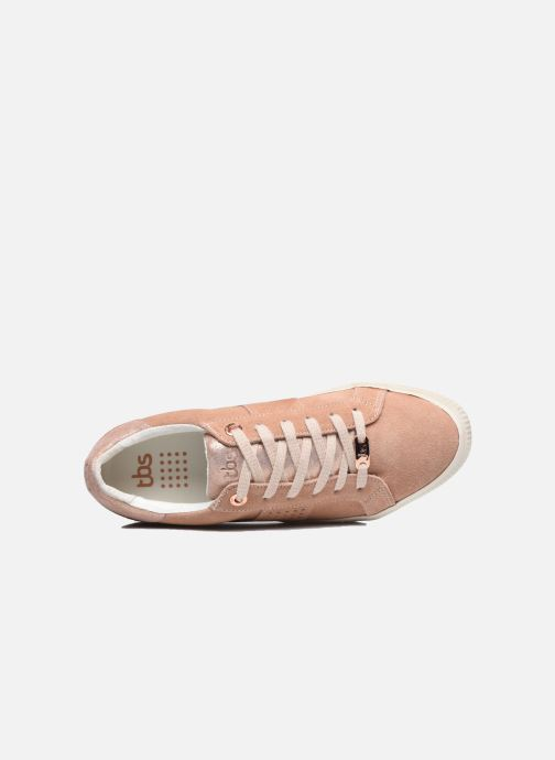 Sneakers TBS Nocella Rosa immagine sinistra