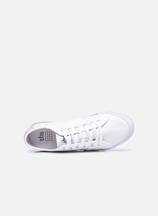 Sneakers TBS Eyrronn Bianco immagine sinistra