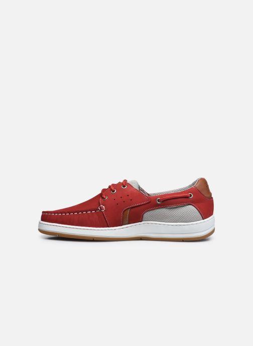 Zapatos con cordones TBS Safford Rojo vista de frente