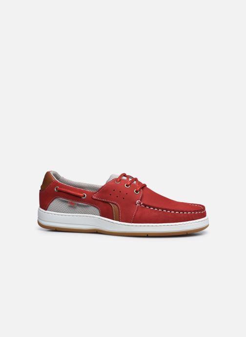 Zapatos con cordones TBS Safford Rojo vistra trasera