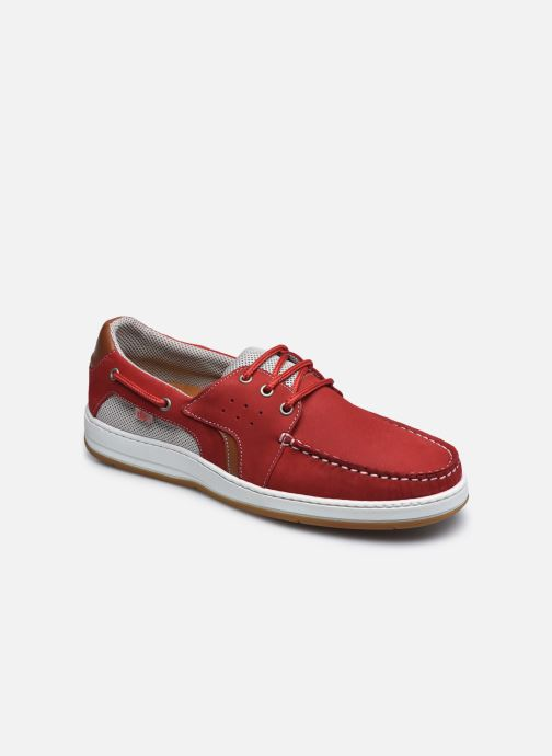 Zapatos con cordones TBS Safford Rojo vista de detalle / par