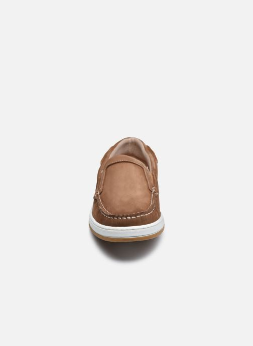 Mocasines TBS Sidbury Marrón vista del modelo