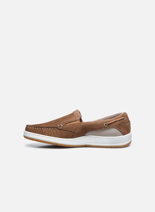 Mocasines TBS Sidbury Marrón vista de frente