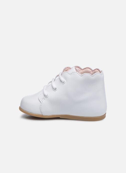 Stiefeletten & Boots Jacadi Marionnette weiß ansicht von vorne